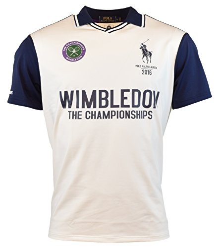 Polo Ralph Lauren Wimbledon Custom-Fit Jersey Polo Shirt - XL - - Ralph Lauren Wimbledon