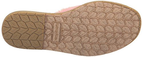 Dirty Laundry Women's Empowered Twill Slide Sandal Rose Pink UES6u0P