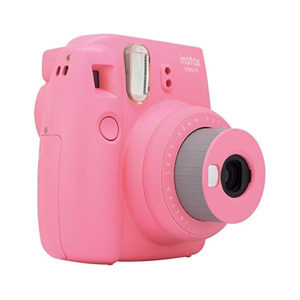 RetinaPix FujiFilm Instax Mini 9 Bundle Pack (Flamingo Pink)