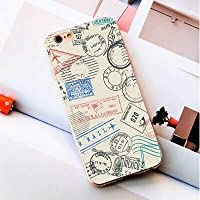 World Map Travel Plans Clear Soft Silicone Phone Cases | for Max X 7 8 6 6s Plus 5s 5Se 5c 4s 4 Touch 6 5