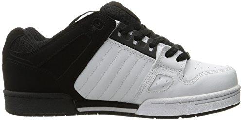 Dvs Mens Celsius Skate Schoen Zwart / Wit Lederen Nubuck