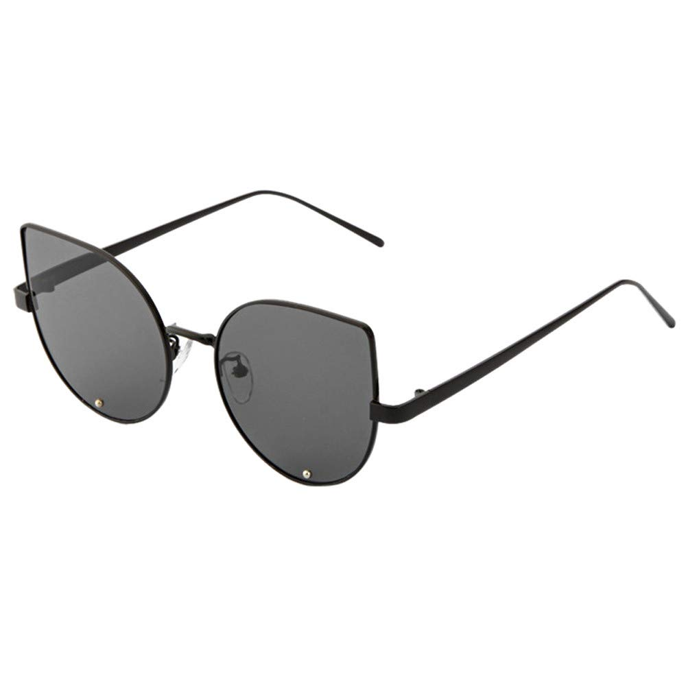 0c051336f7 Pausseo Fashion Unisex Womens Mens Steampunk Round Frame Polarized Aviator Mirrored  Lens Sunglasses Summer Sports Running Cycling Fishing Driving Hiking ...