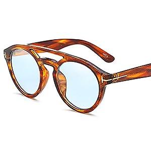 Kingwhisht 2018 Trendy Transparent Sunglasses Women Men Designer Leopard Vintage Retro Shades Sun Spectacles