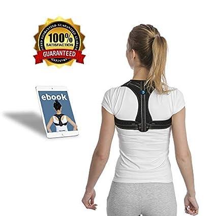 c0e98cefb89 RAFTHART Posture Corrector for Women & Men! Enhances Posture & Relieves  Neck Pain   Fully Adjustable