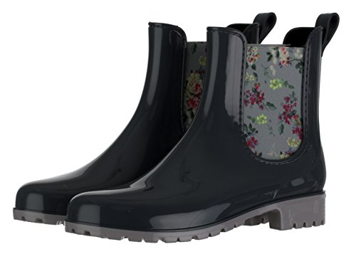 96981820183cdb Brandsseller Damen Kurzschaft Gummi Stiefelette Chelsea  Amazon.de  Schuhe    Handtaschen