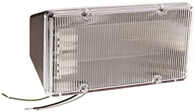 RAB Lighting PLF26 CFL PLF Fluorescent Floodlight, 13W Twin Type, Polycarbonate, 26W Power, 1800 Lumens, 208V, Bronze Color