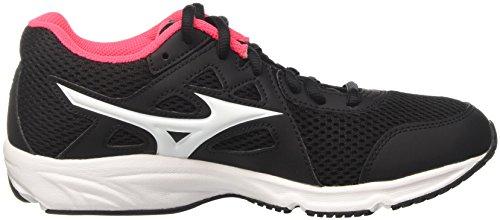 Mizuno Spark Wos - Zapatillas de running Mujer Multicolore (Black/White/Diva Pink)