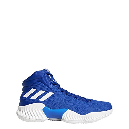 - adidas Men's Pro Bounce 2018 Basketball Shoe White/Collegiate Royal, 8 M US
