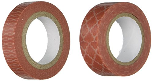 Washi Tape 15mm Total Pkg Coral product image