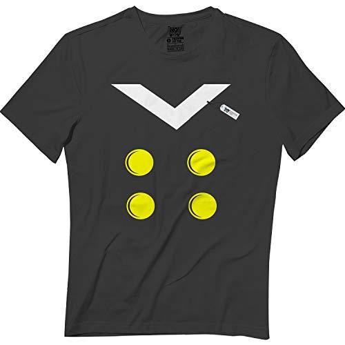 wintertee Donald-Halloween Outfit Pajamas Apparel Costume Matching T Shirt Black