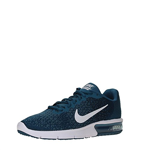 Nike Mens Air Max Sequent 2 Scarpe Da Corsa (8,5 D (m) Us, Legione Blu / Bianco / Nero)