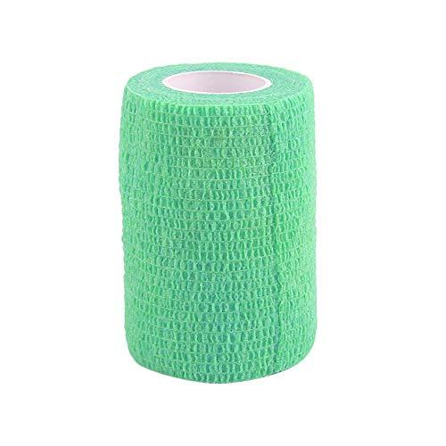 SEN Self-Adhering Bandage Wraps Elastic Adhesive First Aid Tape4.5m x 7.5cm green
