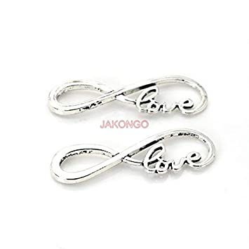 I LOVE YOU,Charm Silver Alloy Pendant,Jewelry Finding Making Diy Accessories