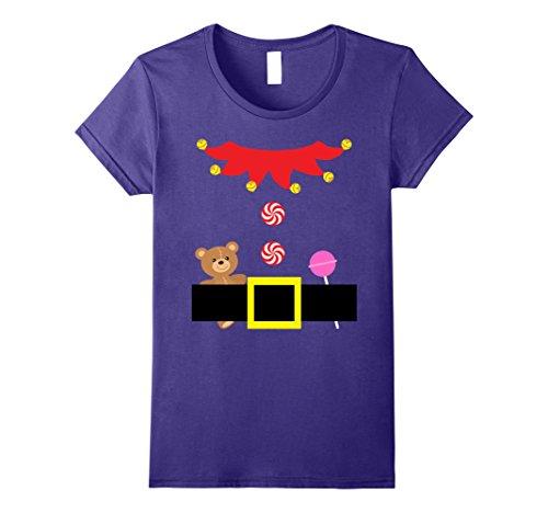 Cute Teenage Costumes Ideas (Womens Christmas Cute Elf Outfit Suit Costume Tween Teenage Girls Large Purple)