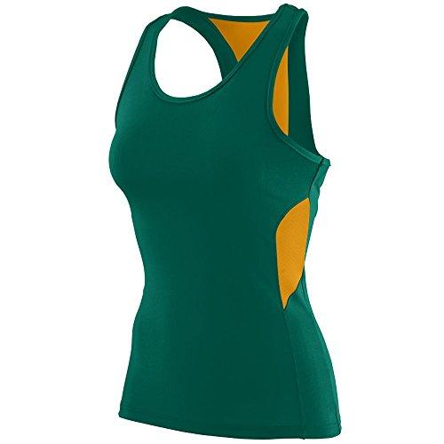 Augusta Sportswear Womens Inspiration Jersey XL Dark Green/Gold (Frauen In Augusta)