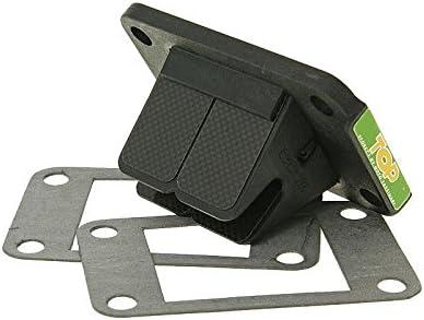 Top Performance - Caja de válvulas TPR para Minarelli AM6, color negro: Amazon.es: Coche y moto