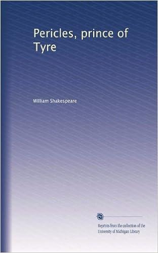 Download gratuito di audiolibri in inglese Pericles, prince