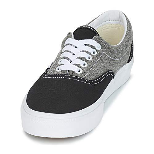 Zapatillas Chambray True Unisex Black De Vans Authentic Canvas White Skateboarding 7wqPgH5
