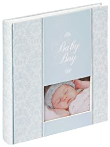 Walther, Álbum para Bebés, Daydreamer, UK-159-R, 28x30,5 cm, 50 Páginas Blancas, Azul