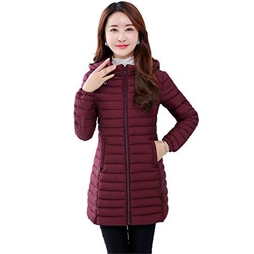Rojo Chaqueta Oscuro Para Bozevon Mujer vTwSntq4B