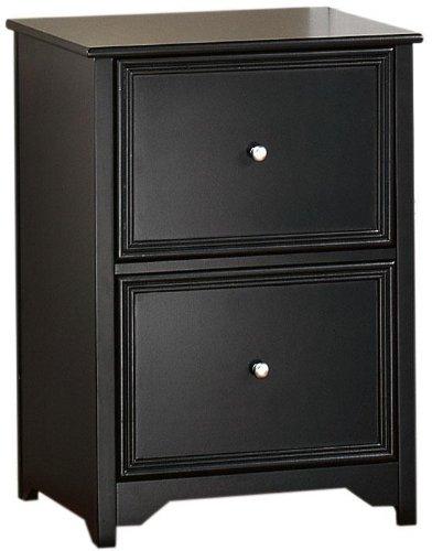 Home Decorators Collection Oxford File Cabinet, 2-Drawer, Black by Home Decorators Collection