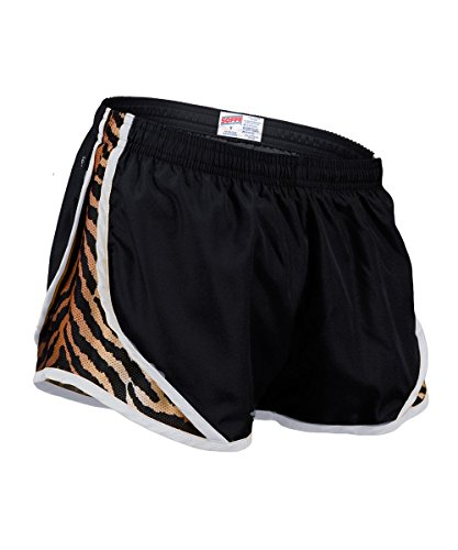 Soffe Girls' Big Team Shorty Short, Tiger, (Tiger Print Shorts)