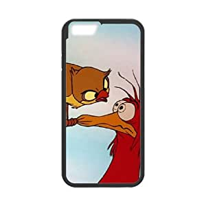 iPhone 6 4.7 Inch Cell Phone Case Black The Fox and the Hound Character Boomer IUC Sparkly Phone Cases