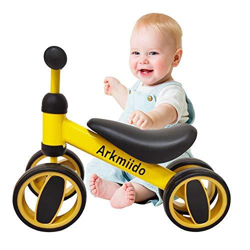 🥇 Arkmiido Bicicleta de Equilibrio para niños de 1 a 2 años
