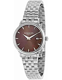 Toccata Brown Dial Stainless Steel Ladies Watch 5988-ST-70001