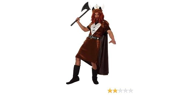 Atosa - Disfraz de vikingo para hombre, talla 50-52 (8422259101321): Amazon.es: Juguetes y juegos