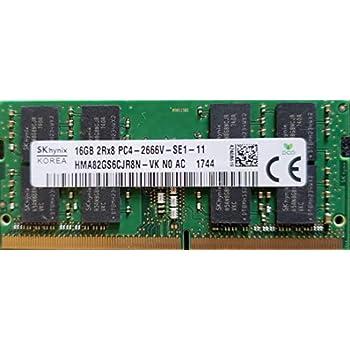 Hynix 16GB PC4-2666V DDR4 2666MHz 260pin So-Dimm Laptop Memory HMA82GS6CJR8N-VK