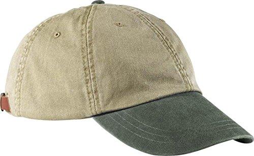 Adams Two-Tone Khaki Optimum Cap LP102 - Khaki/ Spruce Green_One