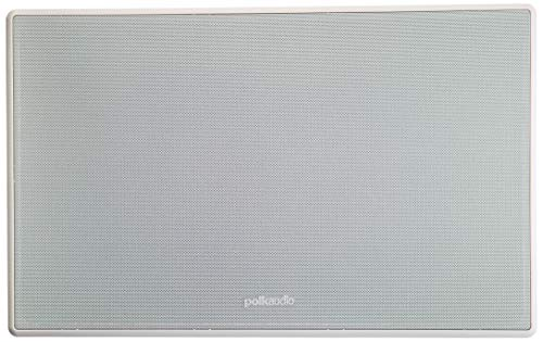 High Professional Series Wall - Polk Audio 255C-RT 2-way In-Wall Center Channel Speaker - The Vanishing Series, Easily Fits into the Wall, High-performance Audio, With Power Port and Paintable Wafer-Thin Sheer Grille