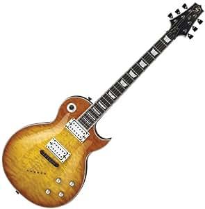 new samick jtr linda ln30 quilt faded sunburst electric guitar sale musical. Black Bedroom Furniture Sets. Home Design Ideas