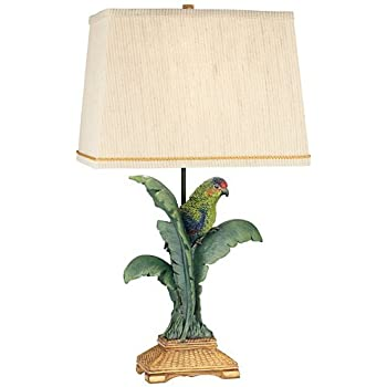 Pacific Coast Lighting Tropical Parrot Table Lamp