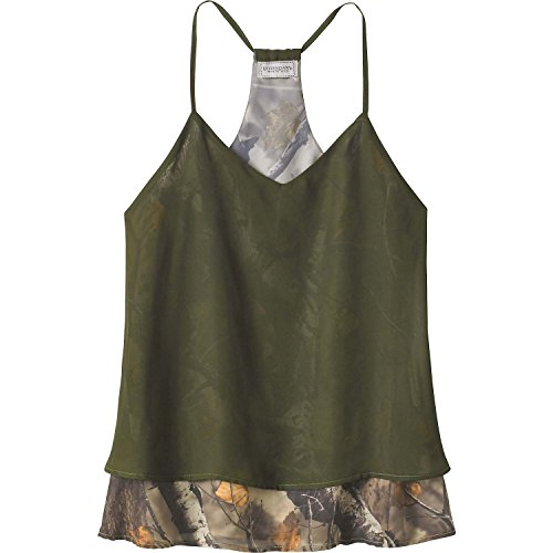 Legendary Whitetails Ladies Country Girl Chiffon Tank Army Large