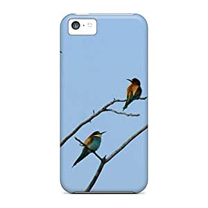 New Style Tpu 5c Protective Case Cover/ Iphone Case - Bird Art