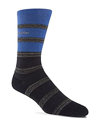 Calvin Klein Men's Stripe Stretch Cotton Socks