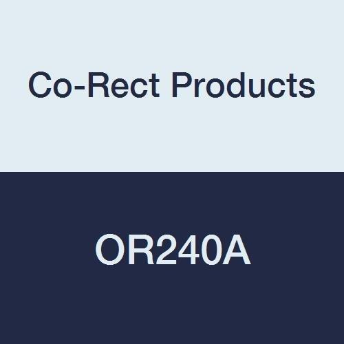 Rack Order Aluminum Slide (Co-Rect Products OR240A Slide Order Rack, Aluminum, 24
