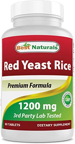 Best Naturals Red Yeast Rice 1200 Mg Tablet