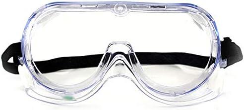 保護メガネ - 透明ゴーグルラボキッチン防水シールメガネゴーグル (Color : Clear)