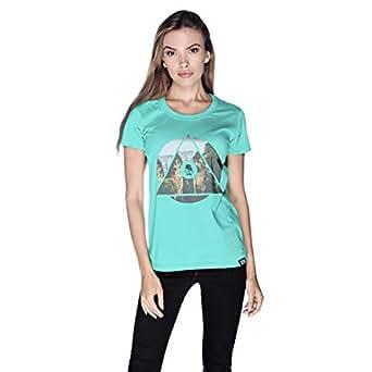 Creo China Mountain T-Shirt For Women - L, Green