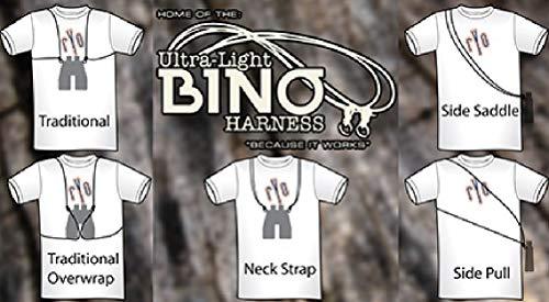 Ultra-Light Binocular Harness Color Black