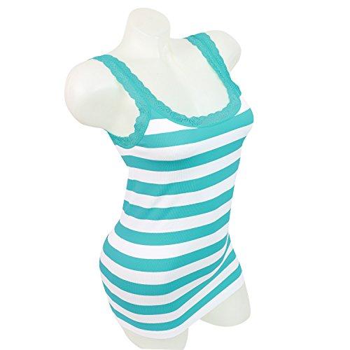 Glamexx24 - Camiseta sin mangas - para mujer GruenTuerkis
