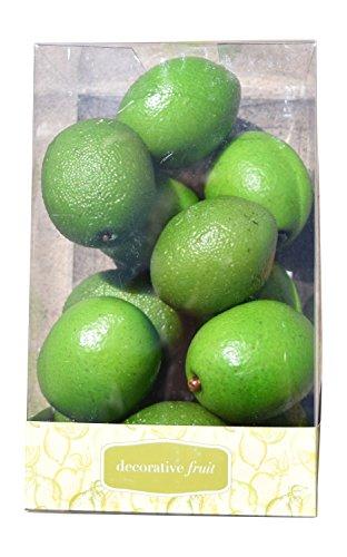 Florabunda 12-Piece Mini Decorative Fruit, Green - Acetate Plastic Glasses