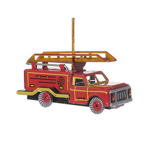(WPS Fire Engine Truck, Tin Decoration - Nostalgic Tin Toy)