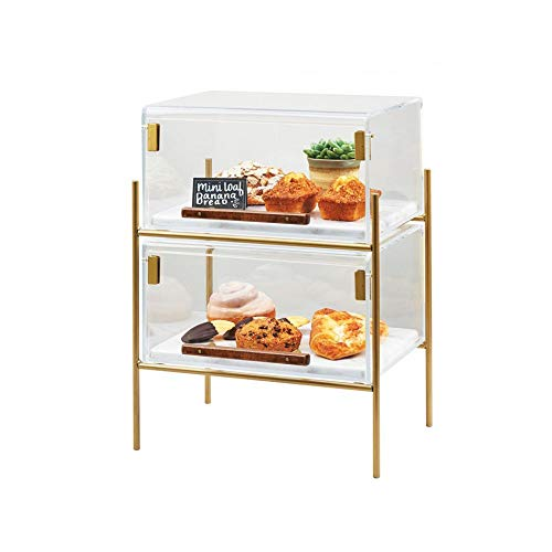 Cal-Mil 3706-1511-46 Mid-Century Pastry Case, 18