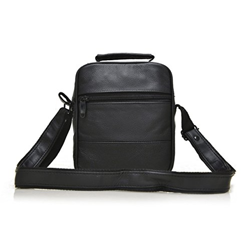 Bag Package Fashion Men Black2 Leisure Black Business Shoulder Classic Inclined Exquisite wRA8AXcq