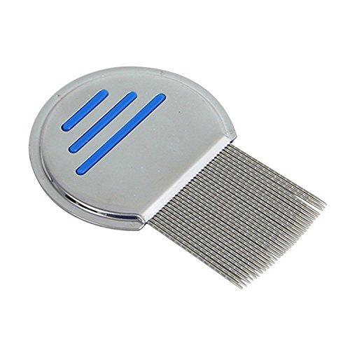 BUYEONLINE Terminator Lice Comb Hair Head Lice Stainless Steel Metal Teeth Comb