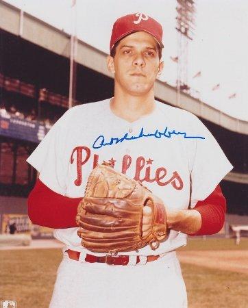 Art Mahaffey Autographed / Hand Signed Philadelphia Phillies 8x10 Photo